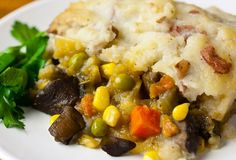 This delicious classic casserole, a vegetable-filled shepherd's pie, may not qualify as a quick dish to make on weeknights, it makes a comforting meal.