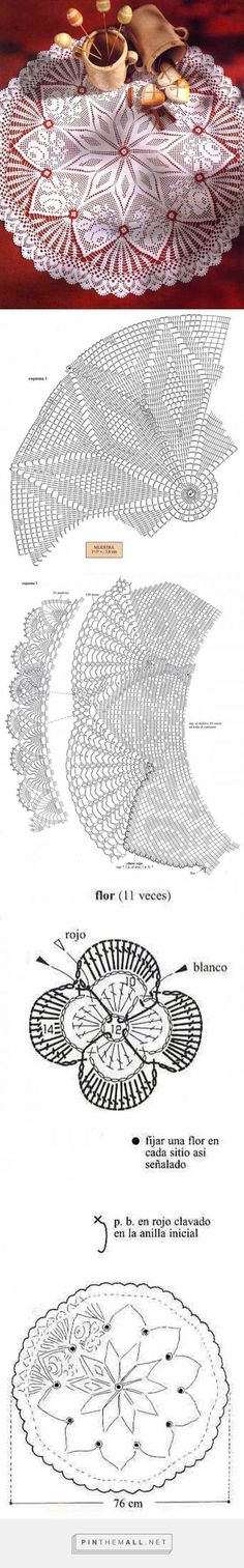 handcrafted weaves in crochet: folder inspired by nature - created via . Filet Crochet, Crochet Doily Diagram, Crochet Doily Patterns, Crochet Art, Crochet Home, Thread Crochet, Irish Crochet, Vintage Crochet, Crochet Crafts