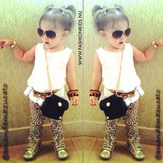 #fashion #kids #style #toddler #baby #girl #outfit #clothes #cute #pretty #shoes #leopard