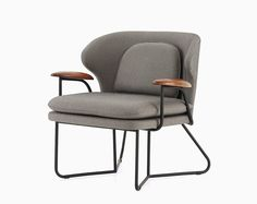 the stellar works' QT/chillax collection by nic graham combines the laidback spirit of modern australian life with mid-century scandinavian design. Bankers Chair, Stellar Works, Low Chair, Lounge Sofa, Contemporary Interior, Modern Chairs, Scandinavian Design, Outdoor Chairs, Furniture Design