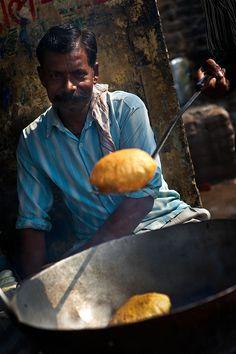 Street Food Smells of Delhi, India