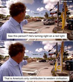 Jeremy Clarkson on the USA