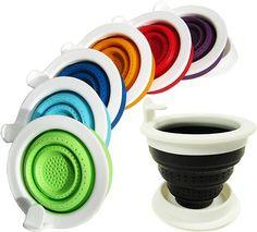 Tuffy Tea Steeper - Travel Tea Infuser - Silicone Tea Basket | TEASPOT
