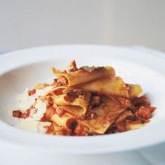 Pappardelle recipes on Pinterest | Sage butter sauce, Braised chicken ...