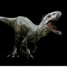 A happy Indominus rex.