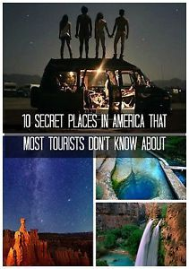 10 Secret Places in America That Most Tourists Don't Know About | eBay