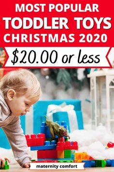 We found the best 7 Hot Toddler Christmas Gifts For Under $20[2020], Christmas toys for toddlers, toddler toys that will last, toddler fine motor activities. Christmas Toys For Toddlers, Toddler Christmas Gifts, Christmas Items, Christmas Activities, Best Toddler Toys, Toddler Meals, Toddler Fine Motor Activities, Christmas Food Treats, Hot