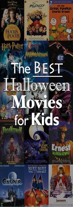 Even if your kids have flown the nest, not everyone loves super scary or gory horror flicks. (Present company included.) Use this list to find some wholesome, not-quite-as-scary films. See more at No Bohns About It. Halloween Tags, Best Halloween Movies, Soirée Halloween, Adornos Halloween, Hallowen Costume, Halloween Disfraces, Holidays Halloween, Halloween Cupcakes, Kid Friendly Halloween Movies