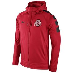 1372f2804ac Zip up a look of champions with this Nike men s Gonzaga Bulldogs hoodie.