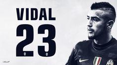 Arturo Vidal 23 Juventus HD Wallpaper for Desktop