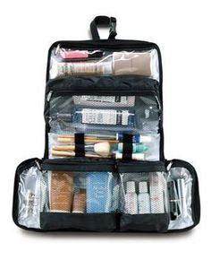 Flat-Out Flat Packing Toiletry Kit Black in Travel More from Magellan's on shop.CatalogSpree.com, my personal digital mall.