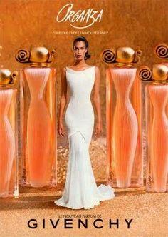 Organza Givenchy perfume - a fragrance for women 1996 Perfume 212, Perfume Diesel, Best Perfume, Perfume Bottles, Perfumes Givenchy, Parfum Chanel, Hermes Perfume, Perfume Organza, Beauty