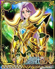 Gold Saint Aries Mu 1 Galaxy Cards version Saint Seiya Legend of Sanctuary