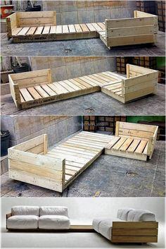 Crate and Pallet DIY Pallet furniture DIY Möbel Most Creative Simple DIY Wooden Pallet Furniture Project Ideas