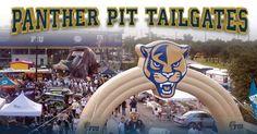 FIU - Florida International University Golden Panthers - tailgating outside football stadium
