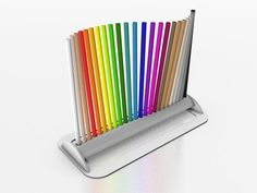 WAVE COLOR PENCIL HOLDER