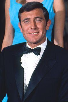George Lazenby as 007 'On Her Majesty's Secret Service' 1969