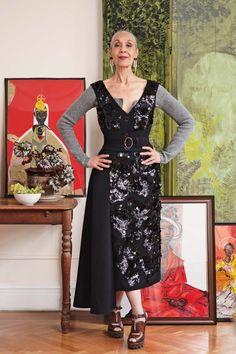 Carmen de Lavallade for Vogue Australia, photographed by Ari Seth Cohen (July 2013)