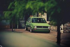 VW Golf Gti MK I I actually like this color.