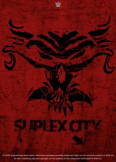 WWE Brock Lesnar Suplex City 2016 Poster by edaba7.deviantart.com on @DeviantArt