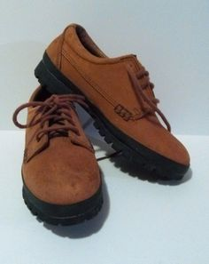 WOMEN'S TIMBERLAND Shoes Brown Leather Guaranteed WATERPROOF Size 5.5 M #TIMBERLAND #Comfort More amazing finds: http://www.ebay.com/usr/medusamaire http://www.ebay.com/usr/maire1968