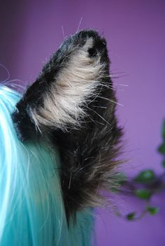 brown wolf ears by woodlandcreatureshop on Etsy