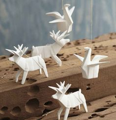 Roost Porcelain Origami Ornament, $16.50 (Each)