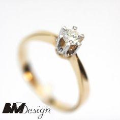 Pierścionek zaręczynowy z diamentem Rzeszów  Pierścionek zaręczynowy Rzeszów BM Design BM Rzeszów BM Rzeszów
