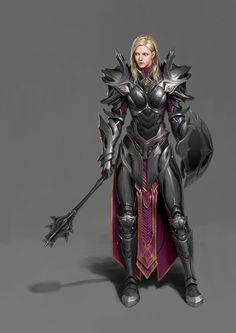 ArtStation - A paladin, Un Lee