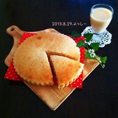 レシピあり!材料2つ☆ ヤクルトdeもちもちケーキ☆   よっしーさんのお料理 ペコリ by Ameba - 手作り料理写真と簡単レシピでつながるコミュニティ -