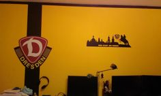 Die Dynamowand im Arbeitszimmer | Fussballzimmer