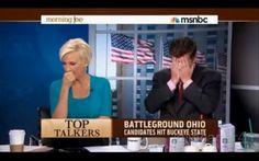 Morning Joe's Joe Scarborough Cries As He Realizes Chris Christie is Lying