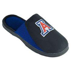 Men's Arizona Wildcats Scuff Slippers, Black