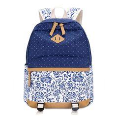 Cheap Donne zaino per la scuola adolescenti ragazze dell'annata elegante  signore sacchetto di scuola