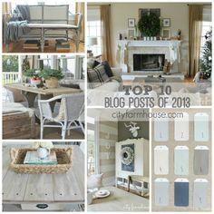 City Farmhouse Top Ten Blog Posts From 2013