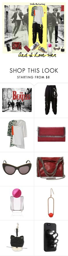 """""""and I love her"""" by billiej-712 ❤ liked on Polyvore featuring STELLA McCARTNEY"""