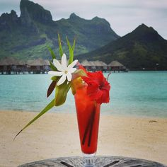 Five O'Clock in Bora Bora! Ready?