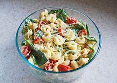 Delightful Nourishment: Chicken Tortellini Salad Click for recipe!