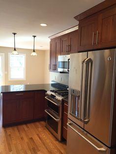 Kitchen Renovation in Waterford CT www.shawremodeling.com #kitchen #renovation #remodel #kitchendesign #waterfordct #interiordesign #homeimprovement