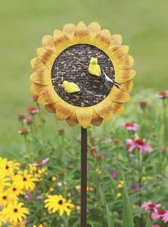 Sunflower Garden Feeder