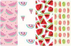Fondos de pantalla chulos para el móvil - #pattern #fabric #textures wallpaper watermelon sandía