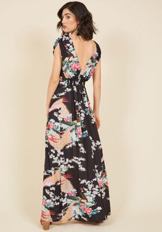 Feeling Serene Maxi Dress in Evening