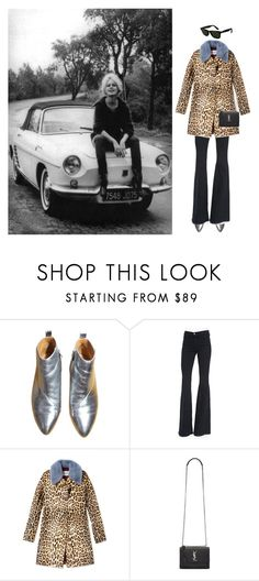 """""""What's The Problem"""" by laurenmarron ❤ liked on Polyvore featuring Frame Denim, Valentino, Yves Saint Laurent, Ray-Ban and laurenthelabel"""