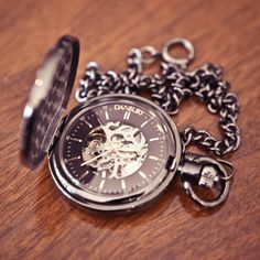 Groomsman Pocket Watch Keepsake