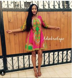 dashiki dress by AdinkraExpo on Etsy https://www.etsy.com/listing/271622219/dashiki-dress