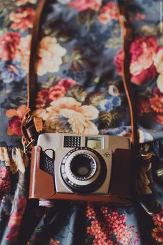 #camera #flowers  floralls:  (by www.juliadavilalampe.com)