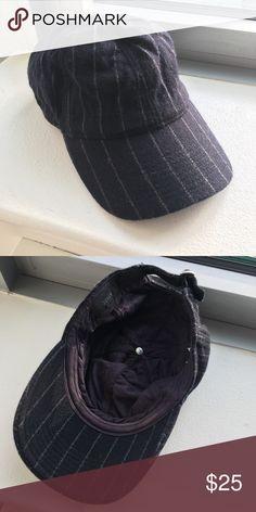 J Crew Navy Wool Pinstripe Baseball Cap Navy wool pinstripe baseball cap. One size. 88% wool, 12% nylon. Lining 100% cotton. J. Crew Accessories Hats