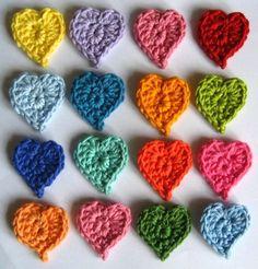 Comment faire de jolis coeurs au crochet, découvrez les tutoriels créations. Découvrez les tutos les plus complets pour faire de jolis coeurs au crochet. tutoriels en images et bien détaillés.