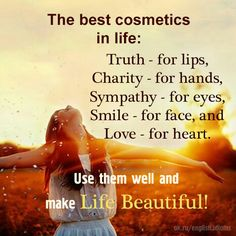 the best cosmetics in life