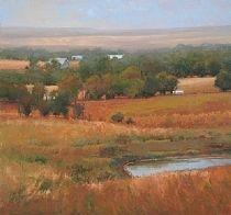 A Change of Seasons by Kim Casebeer Oil ~ 35 x 37